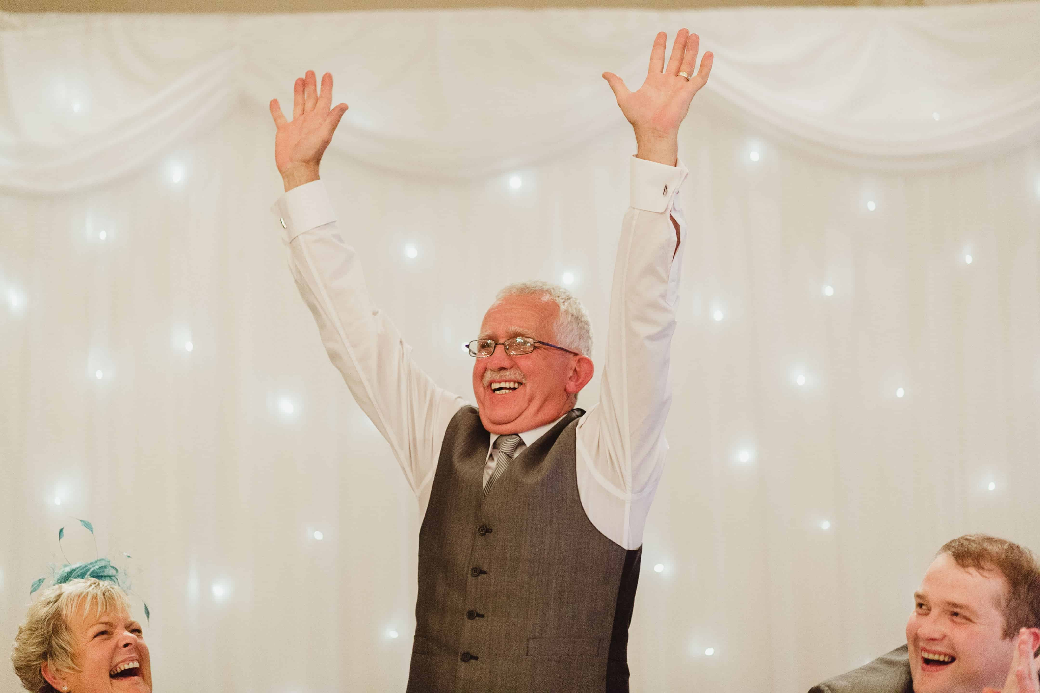 Father of the groom, Ashdown Park Hotel, Wexford