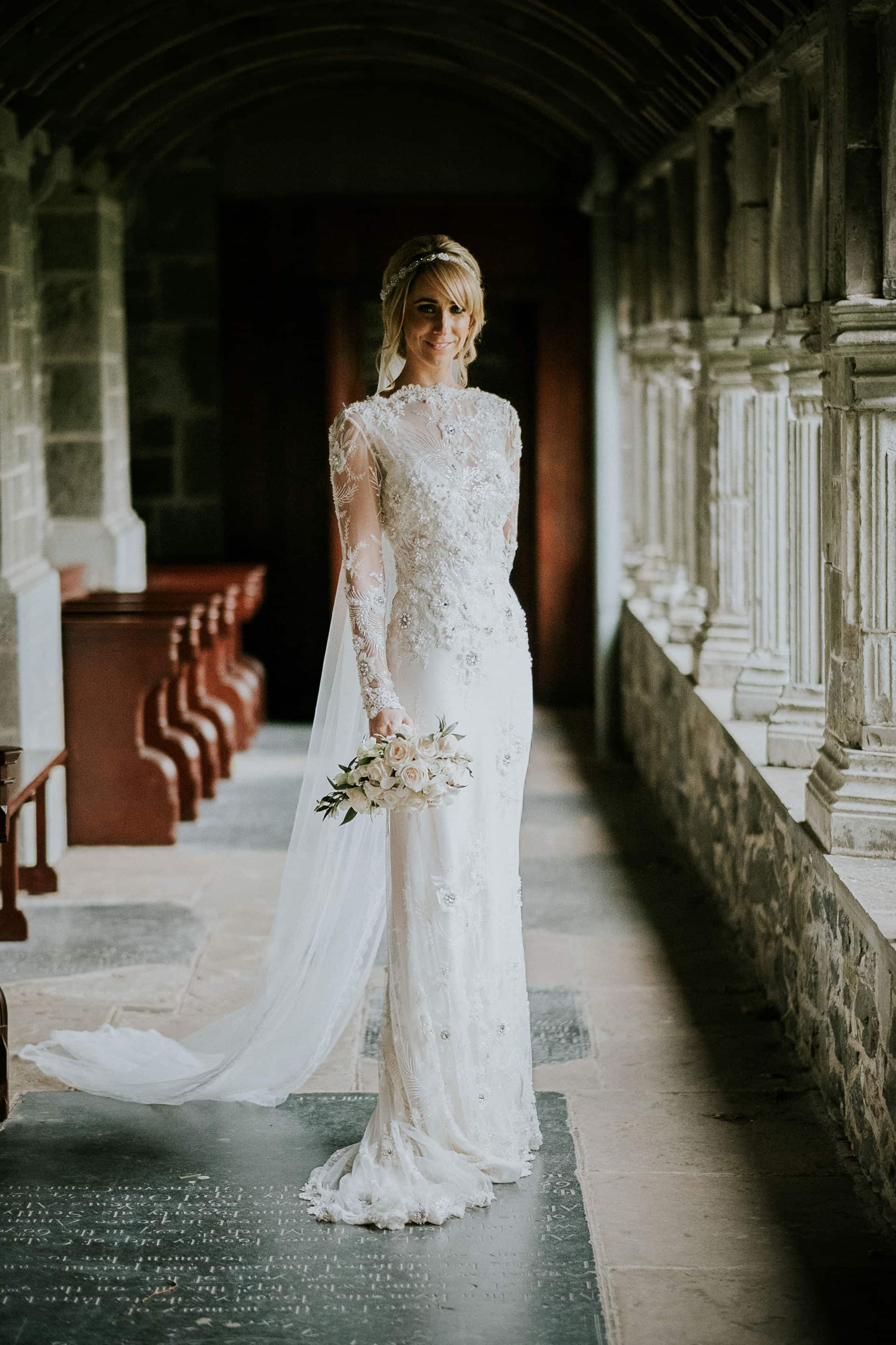 Bridal Portrait at Holycross, Thurles