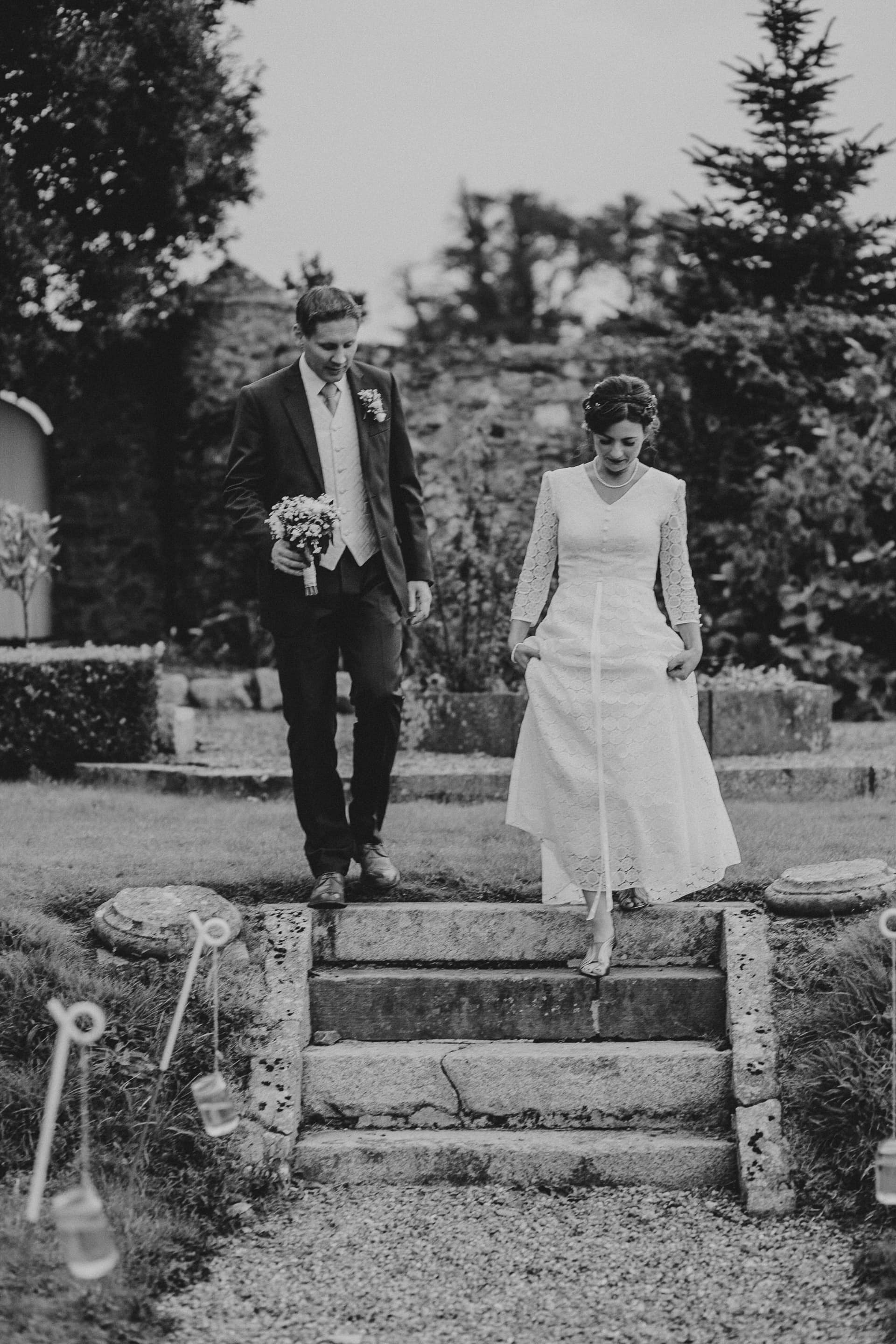 Bride & Groom at Horetown House, Wexford