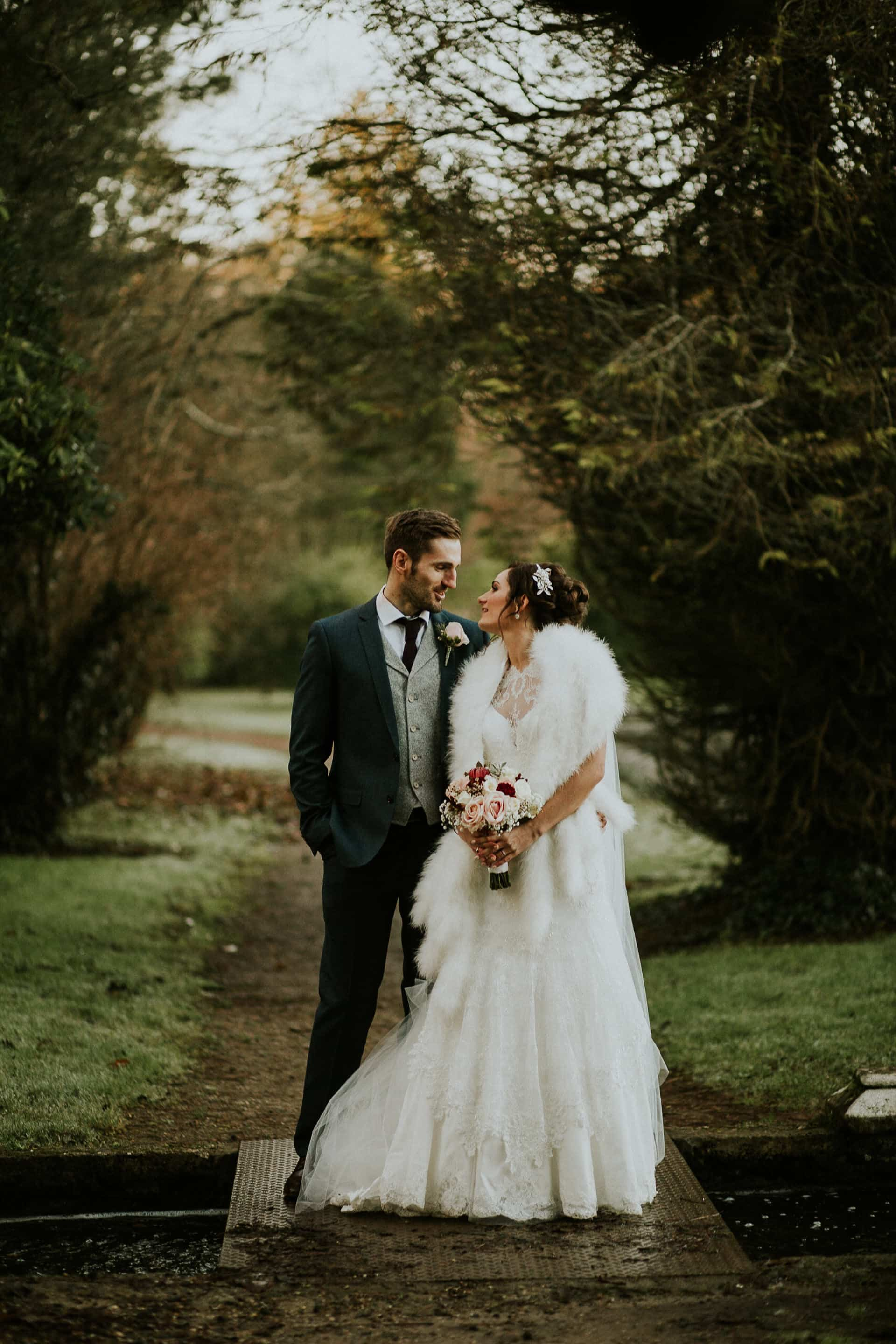 Bride & Groom at Johnstown Castle, Wexford