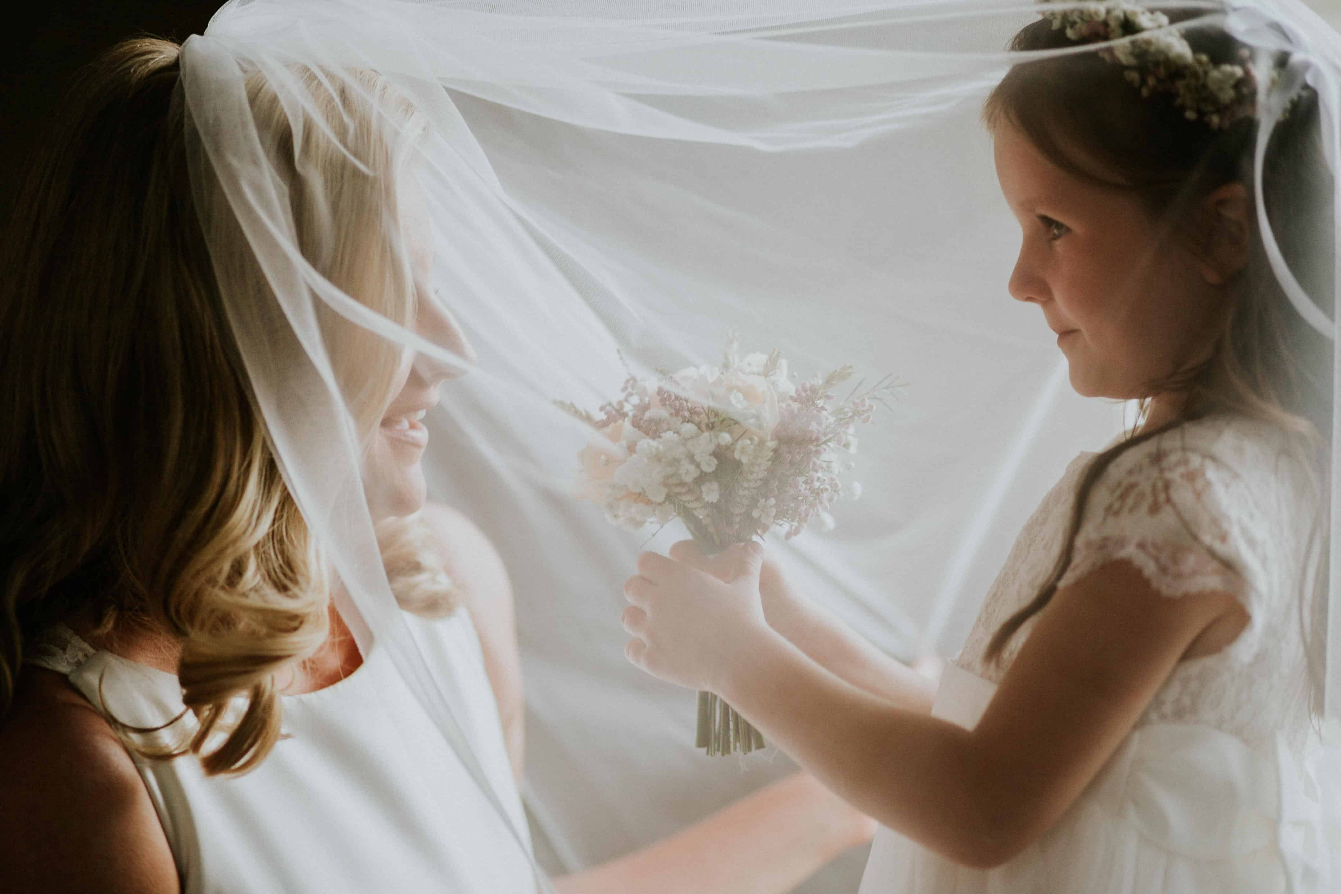 Bride and her Daughter Raheen House