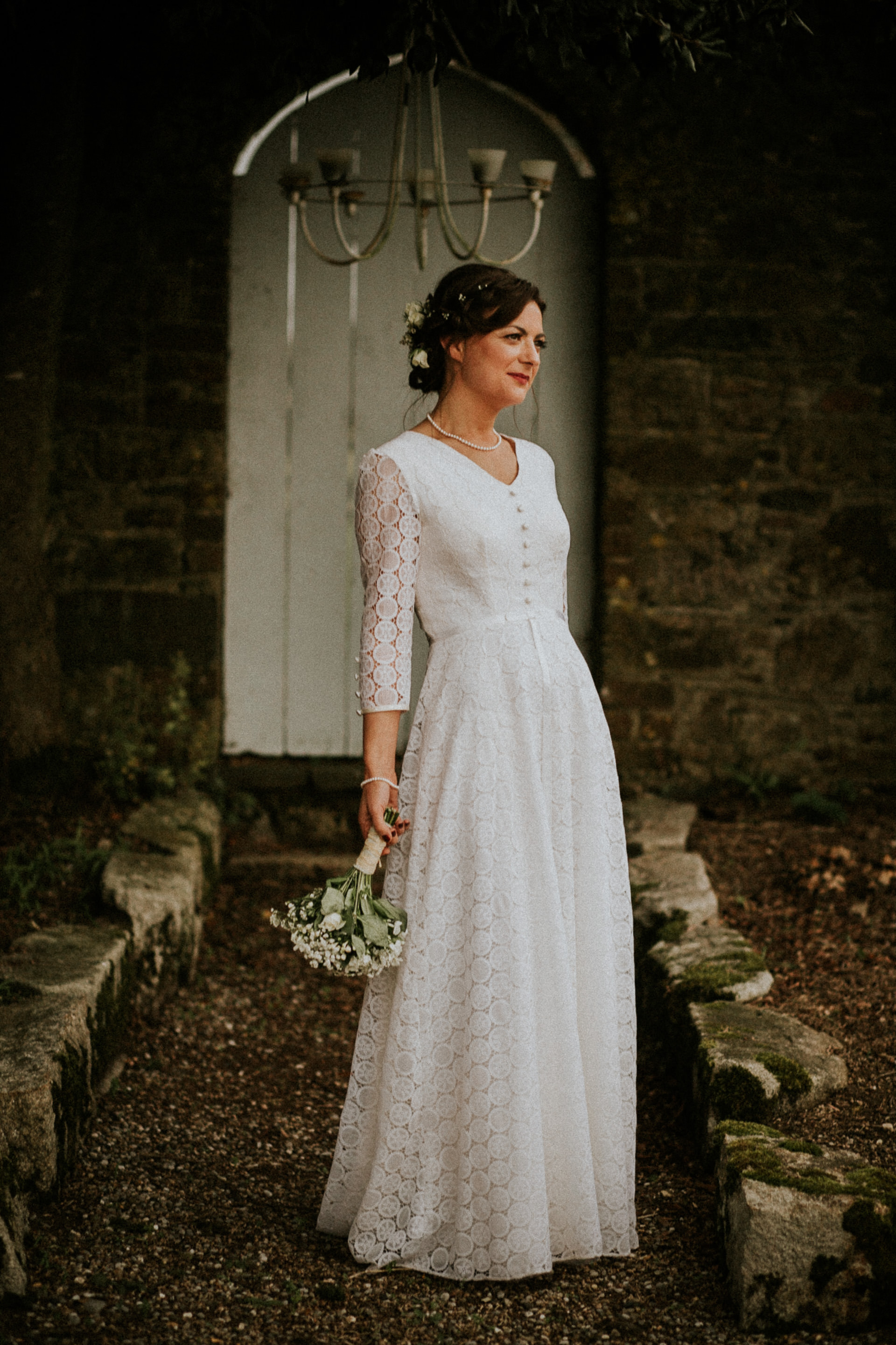 Bridal Portrait at Horetown House, Wexford