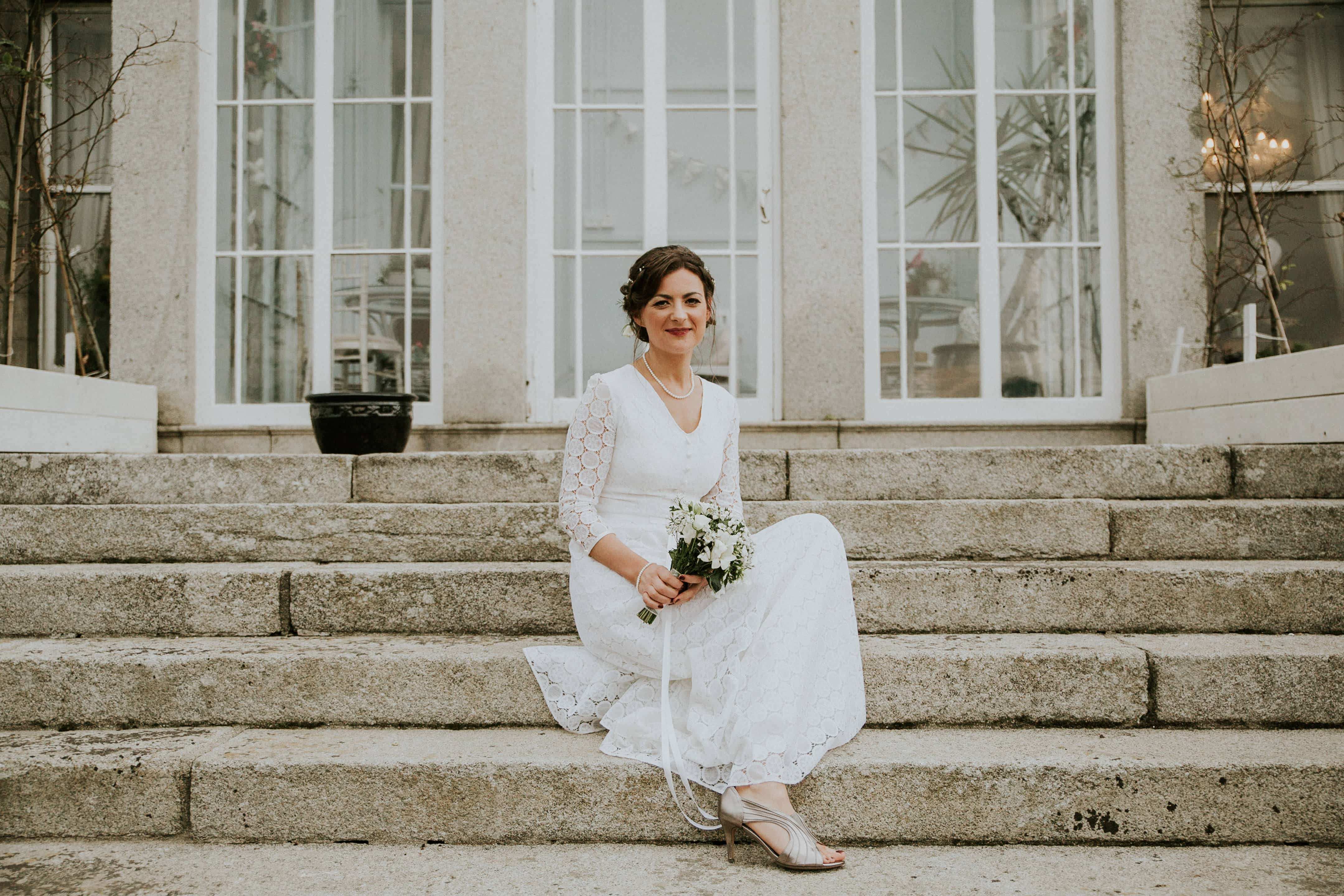 Bride portrait at Horetown House, Wexford