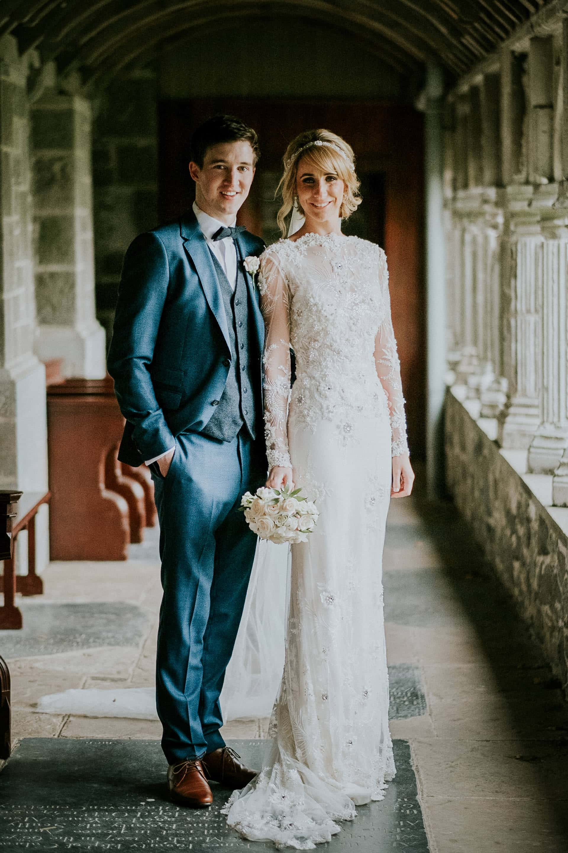 Bride & Groom at Holycross, Thurles