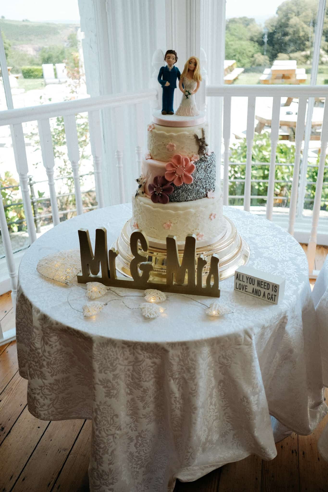 Wedding Cake The Haven Hotel Waterford