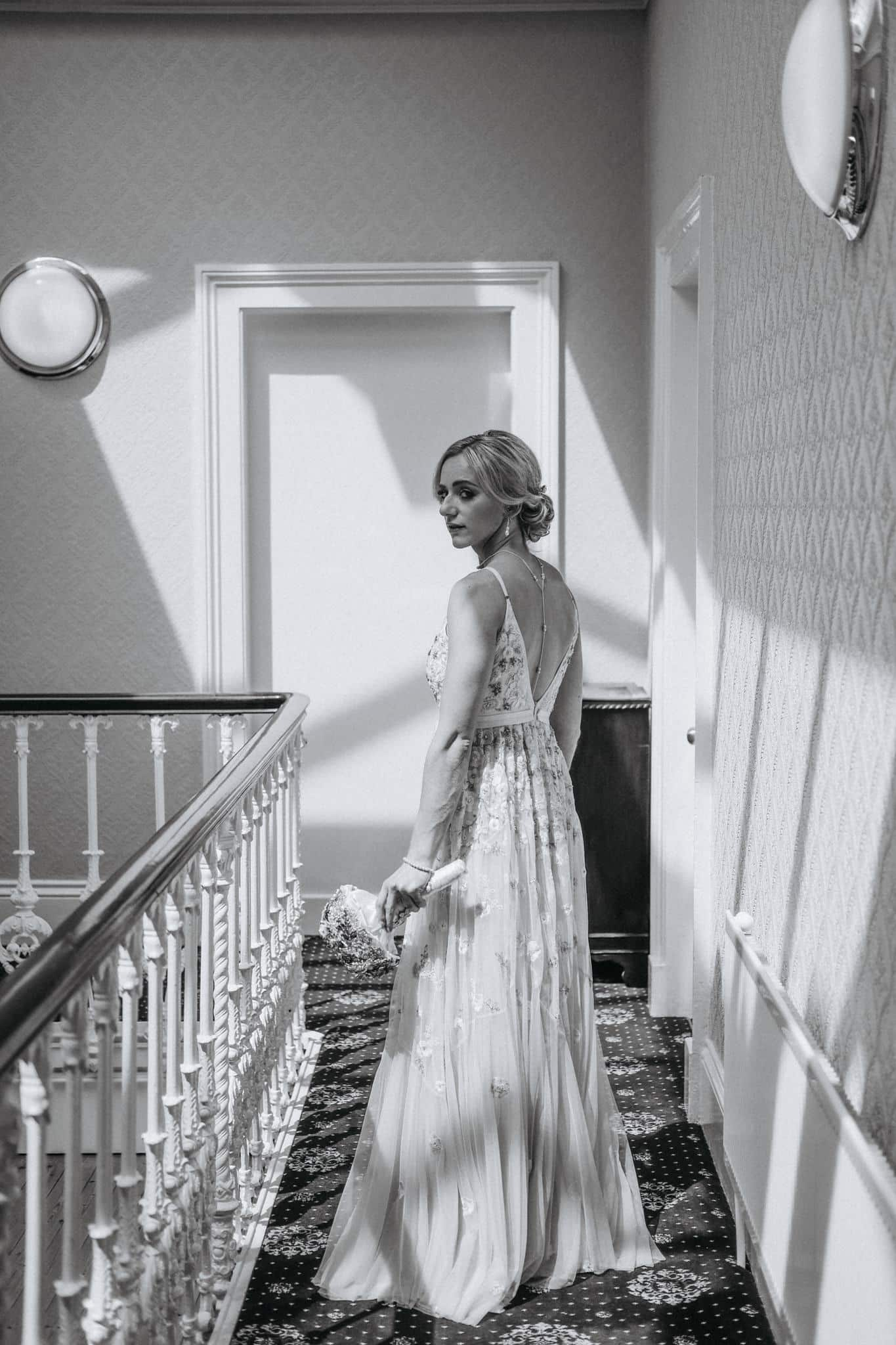 Bride Portrait The Haven Hotel Waterford