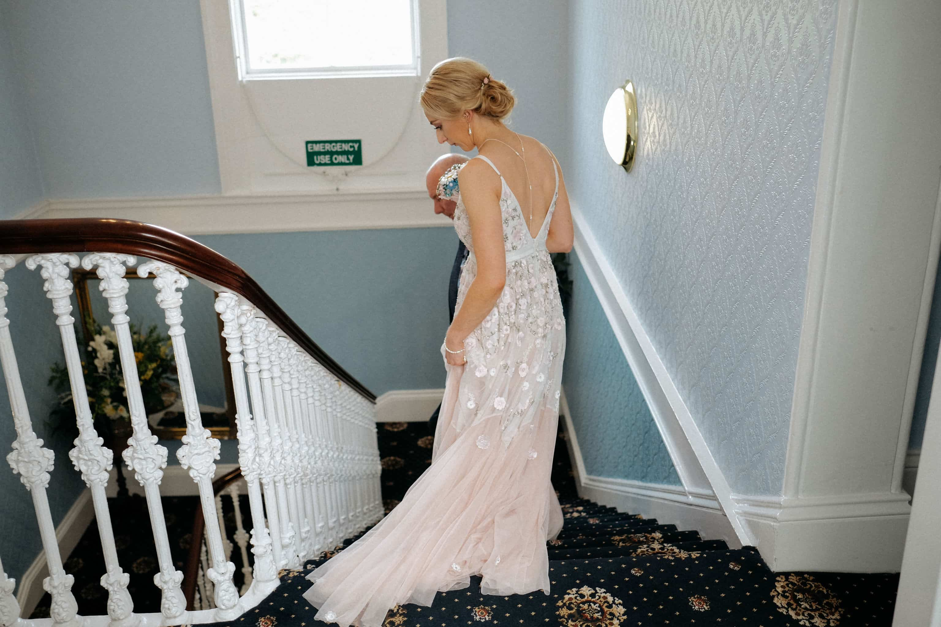 Bridal Preparations at Wedding Ceremony The Haven Hotel Waterford