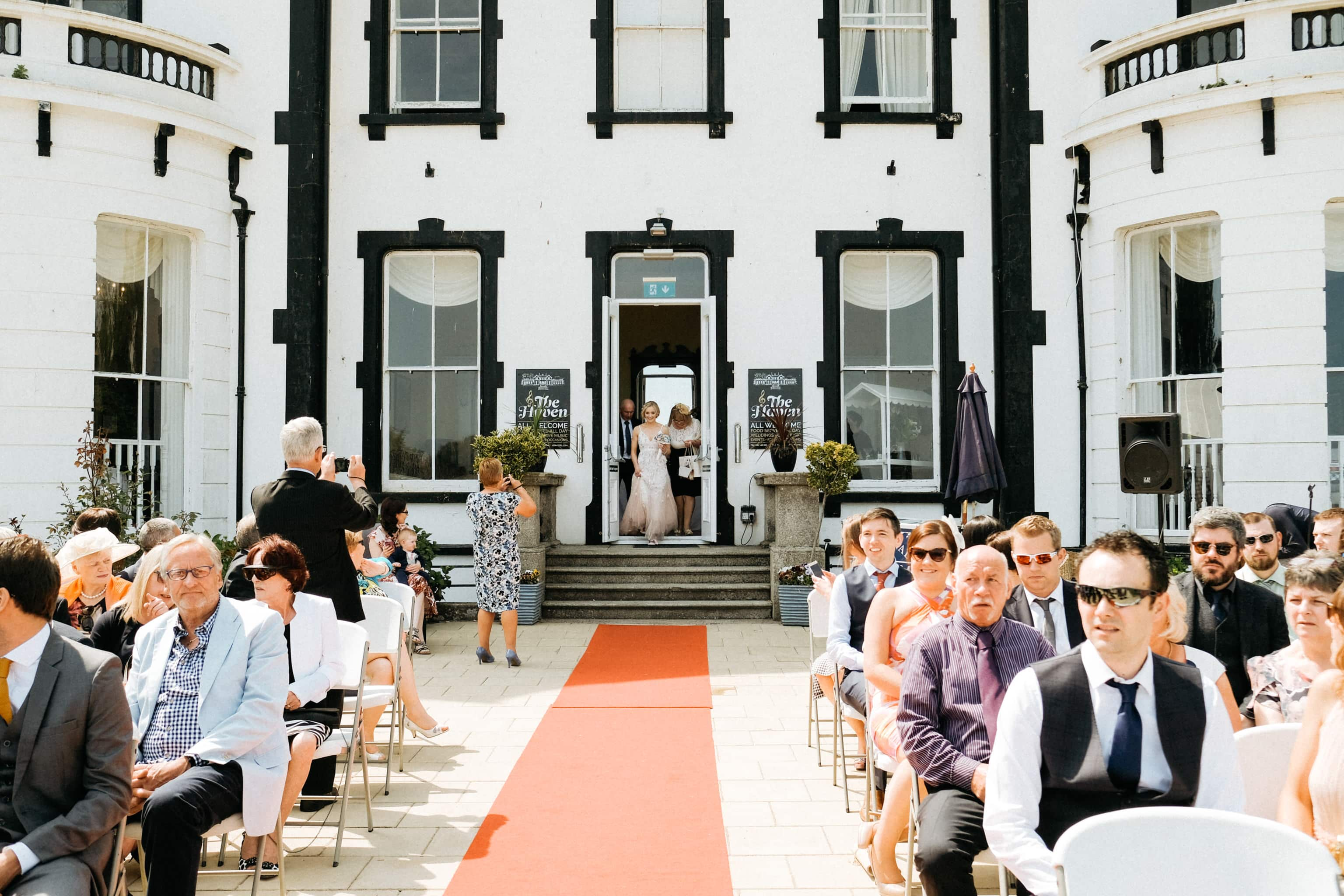 Wedding Ceremony The Haven Hotel Waterford