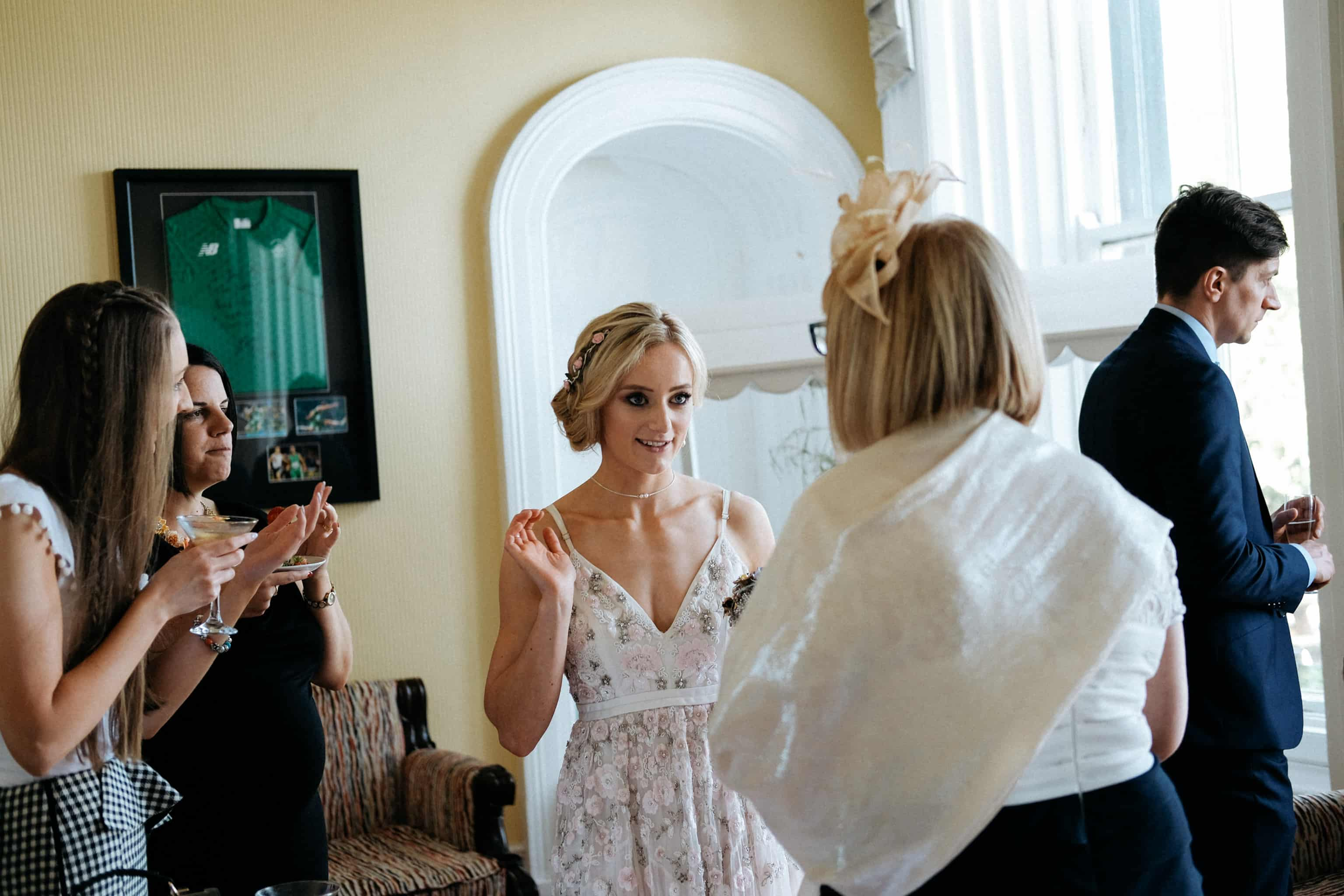 Bride at The Haven Hotel Waterford