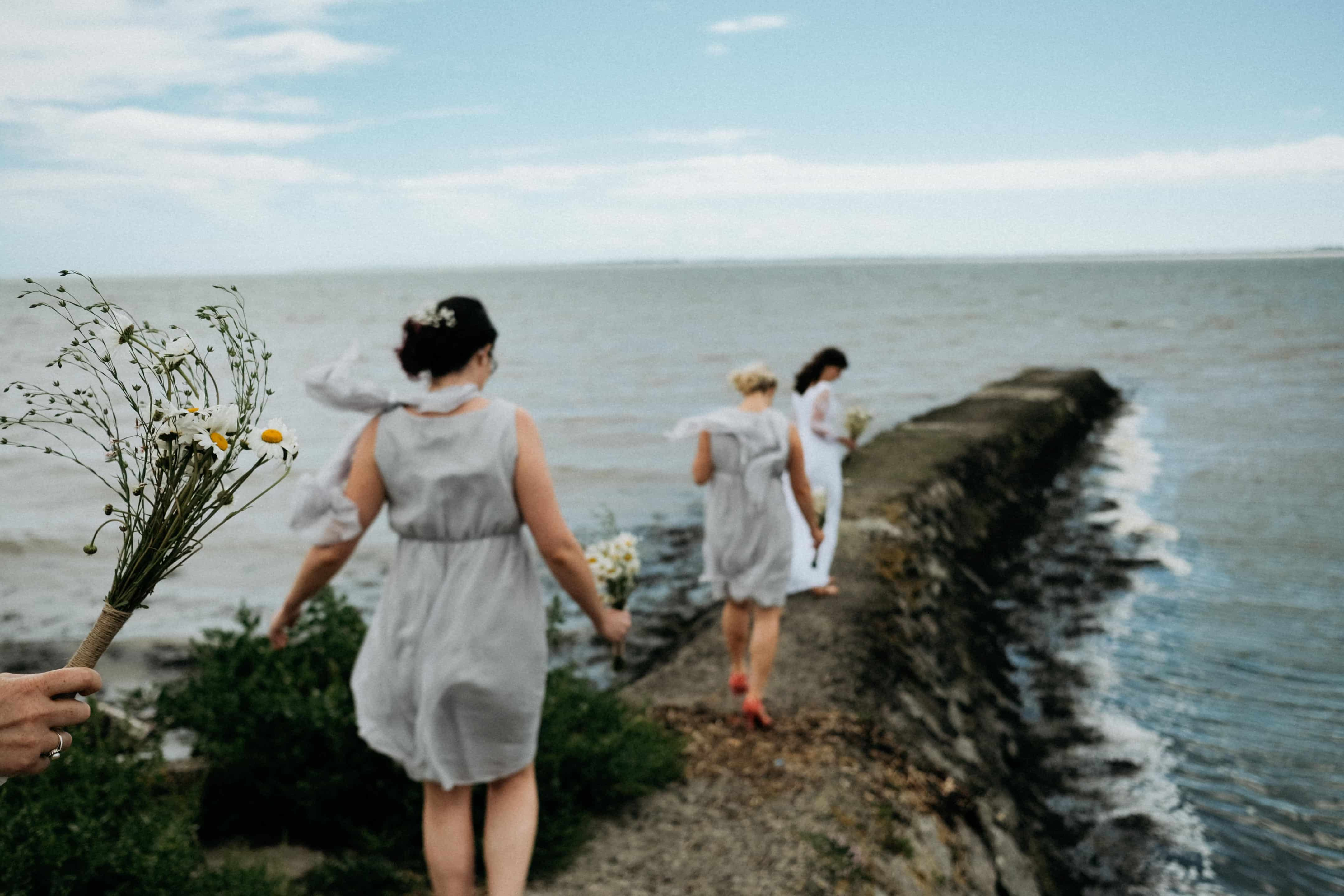 Bridesmaids at the wexford wildfowl reserve