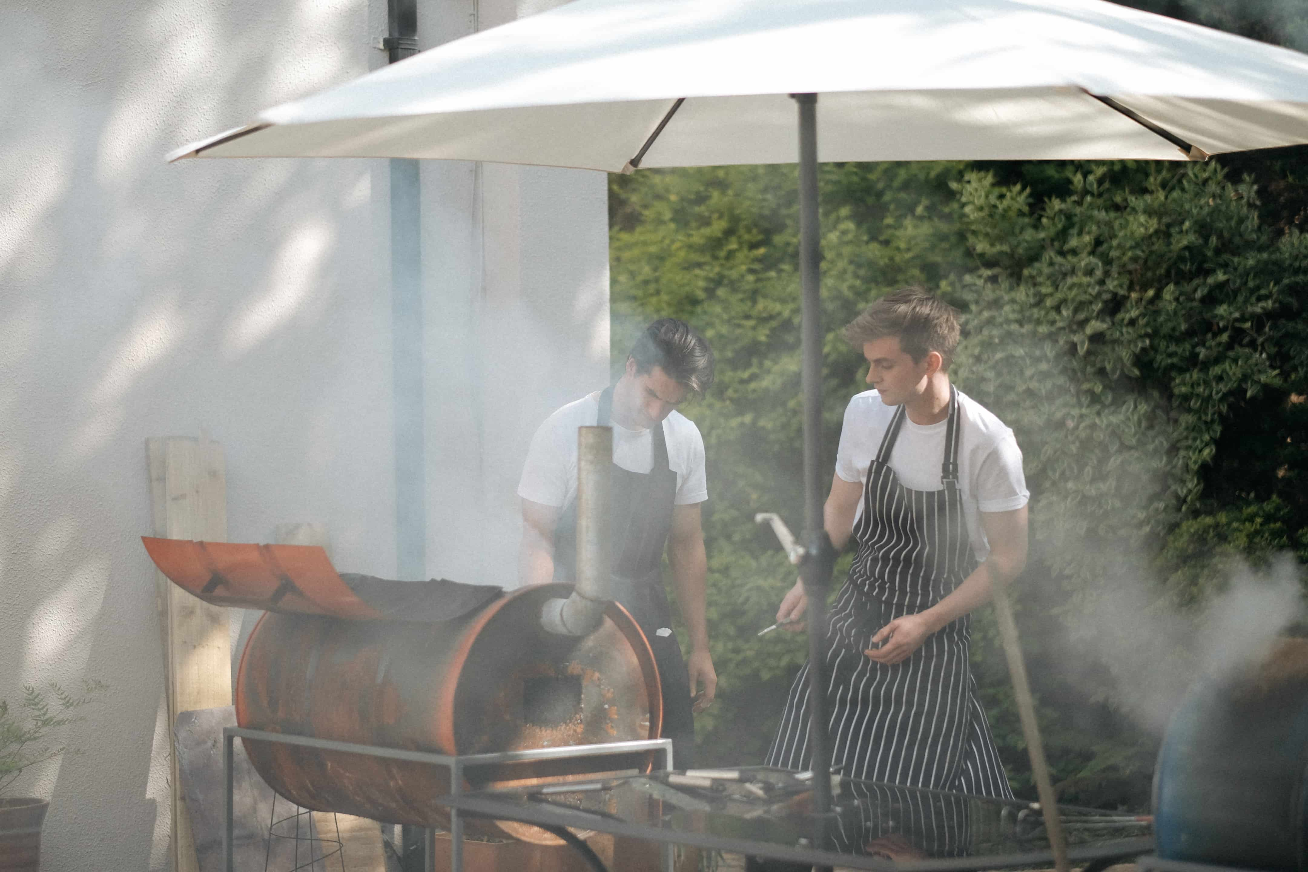 BBQ Homemade Wedding Reception Wexford