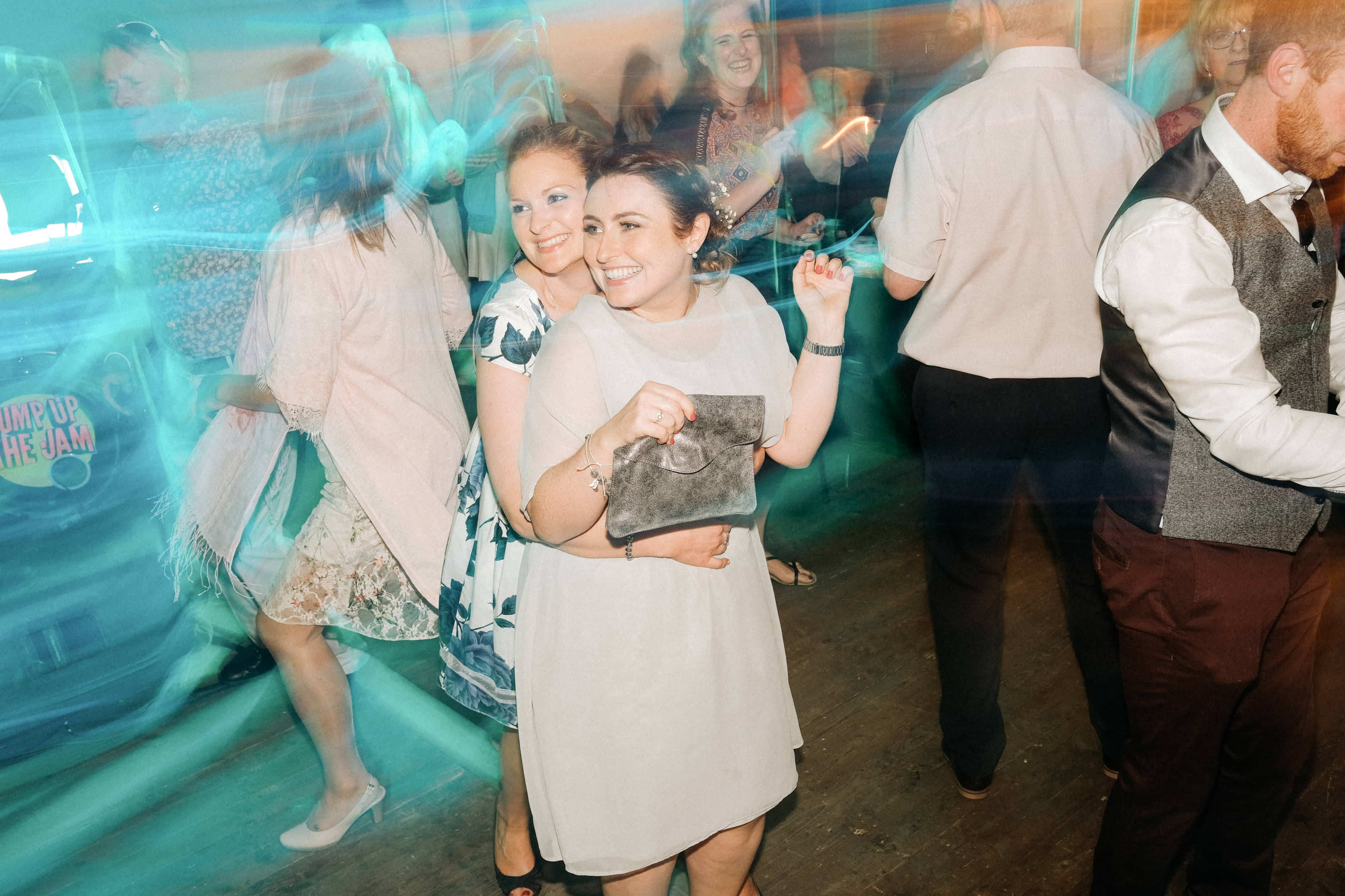 Dancing at Homemade Wedding Reception Wexford