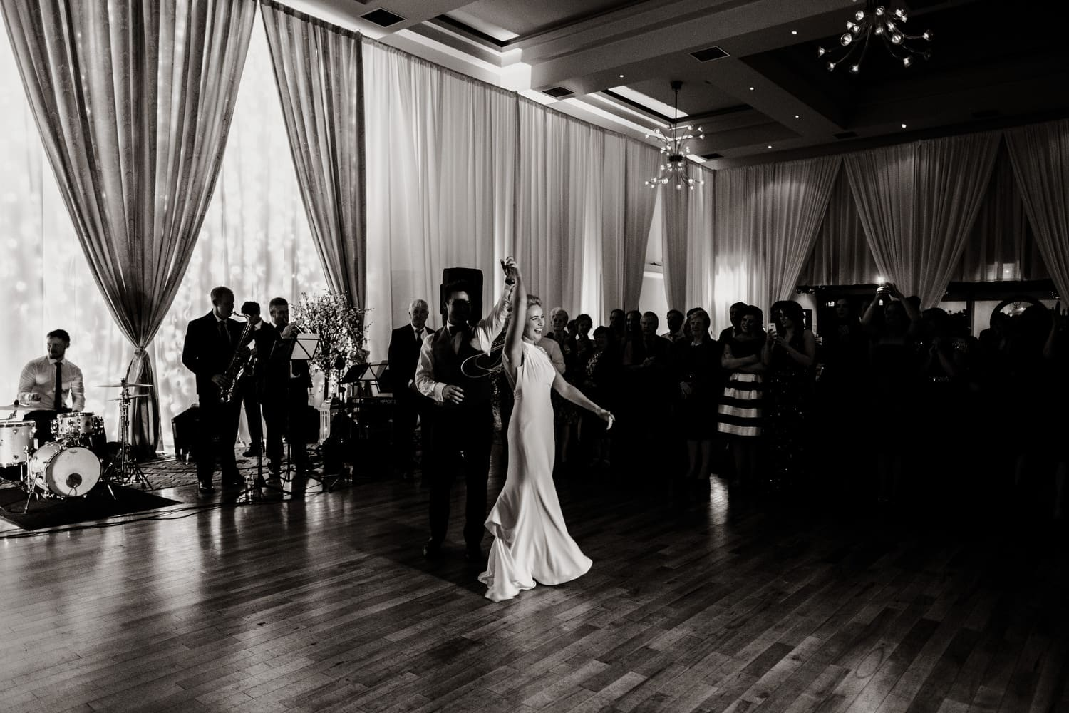 first dance and the Amber Springs Hotel, Gorey